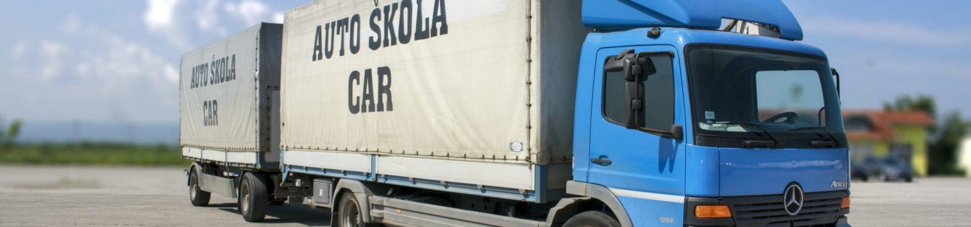 C E kategorija polažite sa nama i za kod95 u Sloveniji